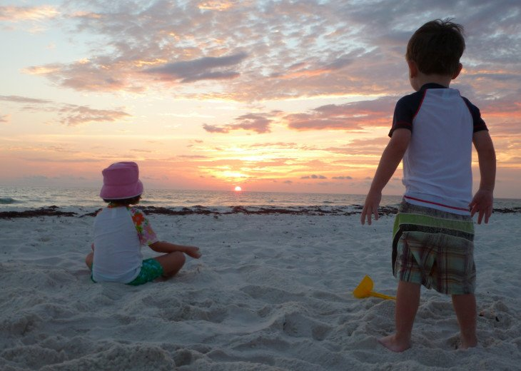 Very Family Friendly Quiet Beach