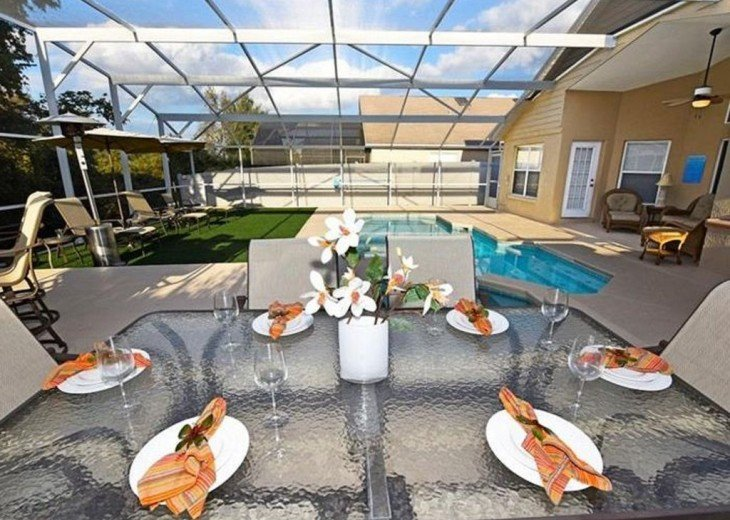 Very private 4 bedroom home with pool & spa #3