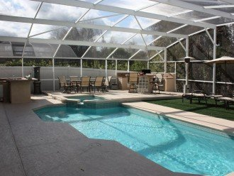 Very private 4 bedroom home with pool & spa #1
