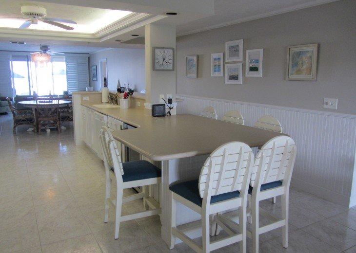 Retiree friendly first floor Condo on Quiet Beach #8