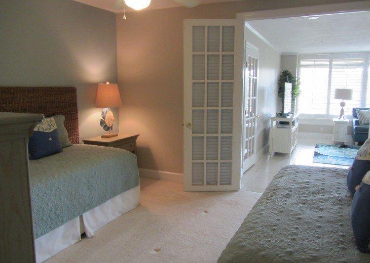 Retiree friendly first floor Condo on Quiet Beach #7