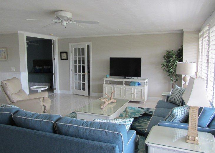 Retiree friendly first floor Condo on Quiet Beach #9