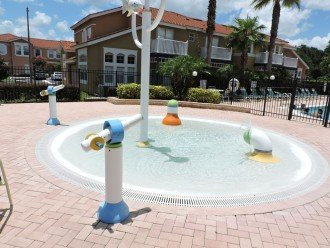 Kiddies splash pool at the Resort