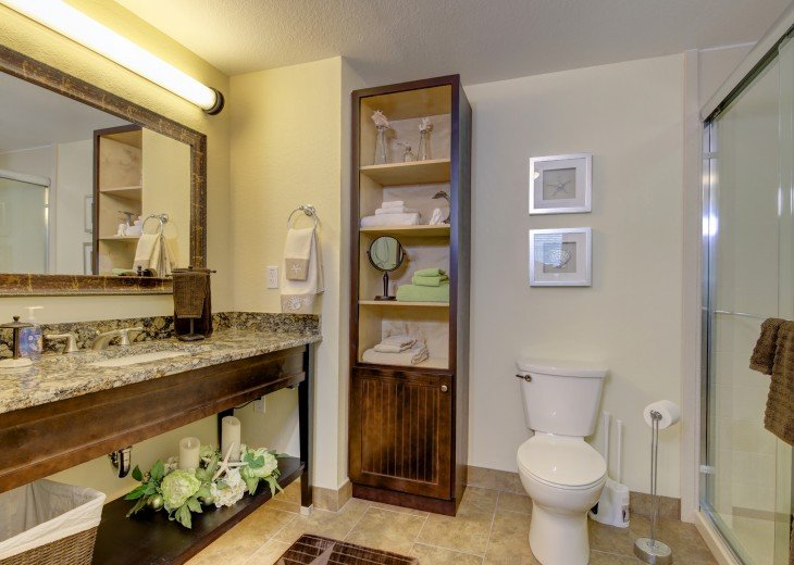 master bathroom (walk in shower)