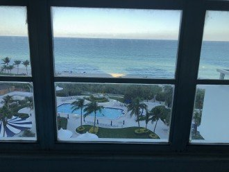 Second bedroom is direct beach view