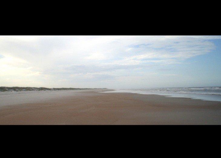 Anastasia State Park Beach: 3 miles north of Ocean Village Club