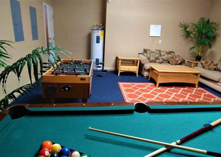 From $1150/week,Pool/SPA,Huge Lanai, No Rear Neighbors,8 TVs,WiFi,Club House #27