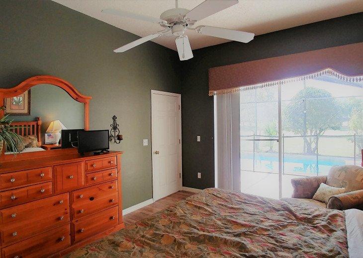 From $1150/week,Pool/SPA,Huge Lanai, No Rear Neighbors,8 TVs,WiFi,Club House #13