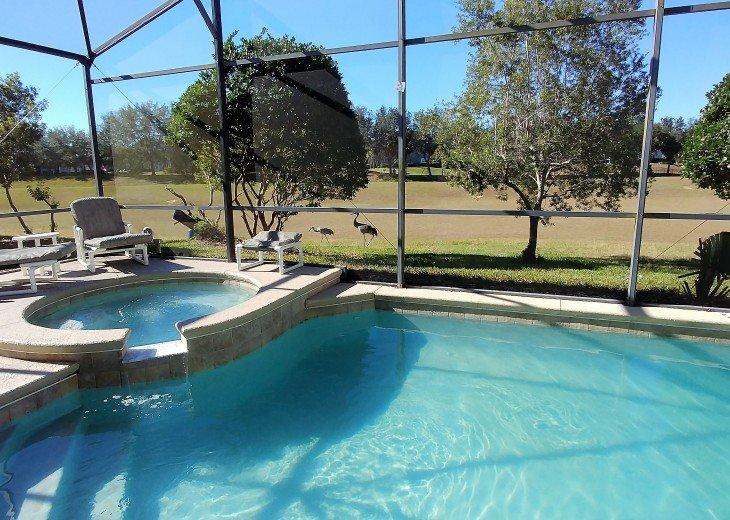 From $1150/week,Pool/SPA,Huge Lanai, No Rear Neighbors,8 TVs,WiFi,Club House #4