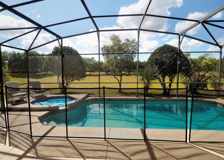 From $1150/week,Pool/SPA,Huge Lanai, No Rear Neighbors,8 TVs,WiFi,Club House #3