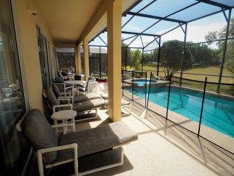 From $1150/week,Pool/SPA,Huge Lanai, No Rear Neighbors,8 TVs,WiFi,Club House #1