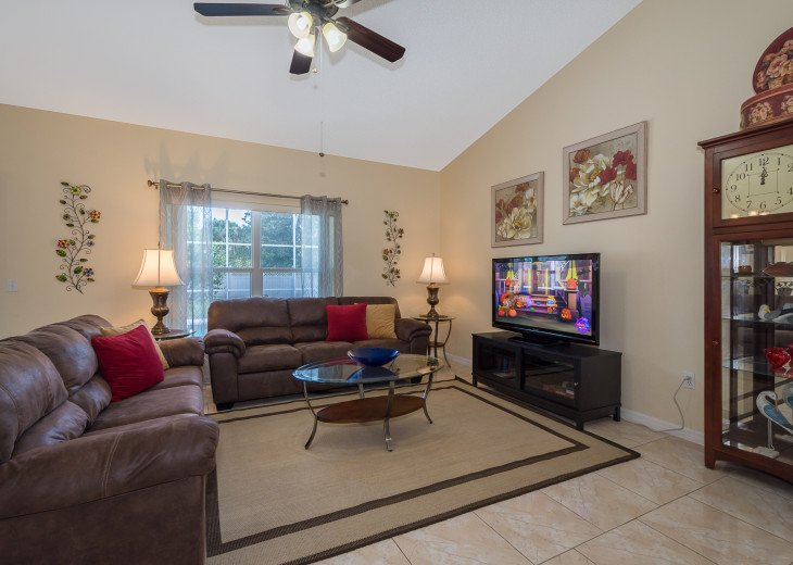 Heavenly Retreat-3BR-Pool, WiFi, BBQ, TVs in all Rooms, Disney/Orlando #5