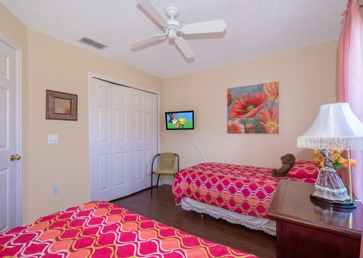 Heavenly Retreat-3BR-Pool, WiFi, BBQ, TVs in all Rooms, Disney/Orlando #24