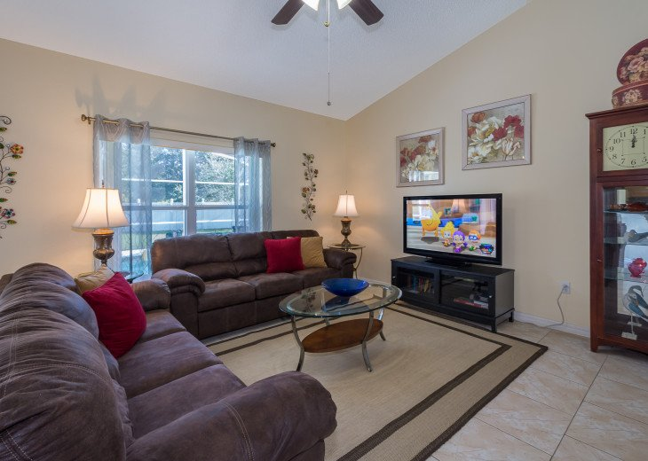 Heavenly Retreat-3BR-Pool, WiFi, BBQ, TVs in all Rooms, Disney/Orlando #7