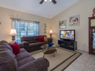 Heavenly Retreat-3BR-Pool, WiFi, BBQ, TVs in all Rooms, Disney/Orlando #1