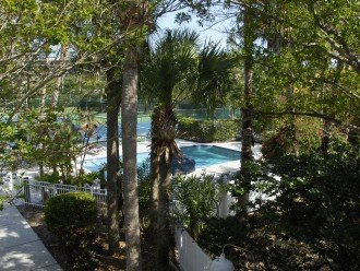 View of Small Pool from Condo