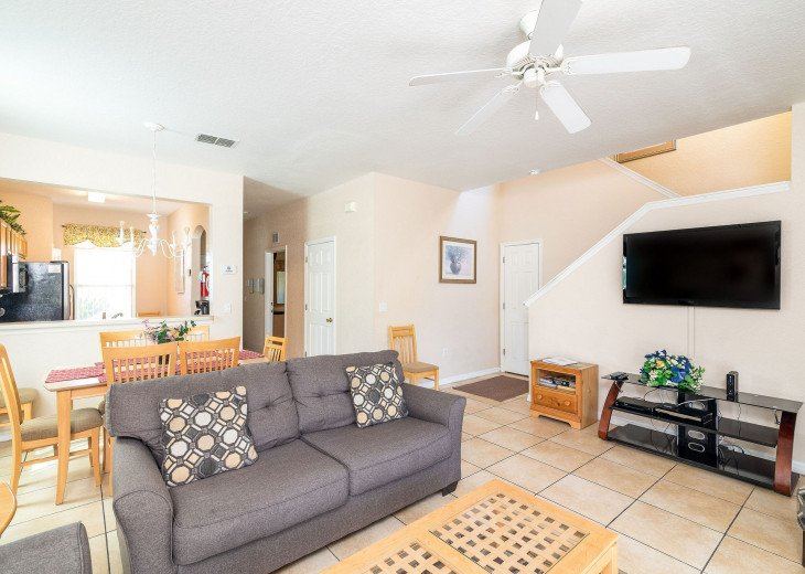 Closest to Pools, 4Bedr, 4Bath, Quite, Sleeps 8, All Fees Included, Best Choice #33