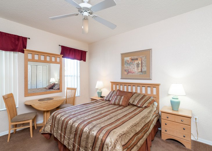 Closest to Pools, 4Bedr, 4Bath, Quite, Sleeps 8, All Fees Included, Best Choice #44