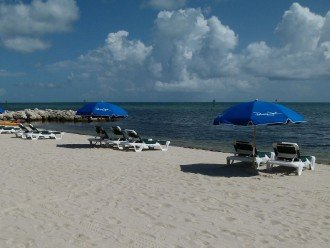 3 BR, 2 BA Oceanfront Oasis On The Beach in Key West #1