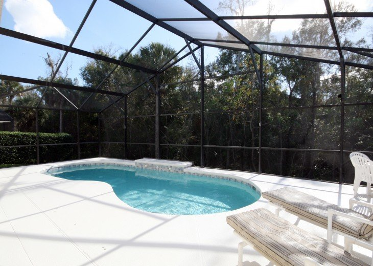Luxury 4 bed pool villa, 15 minutes from DisneyWorld #30