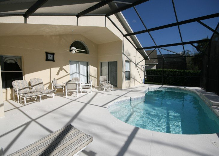 Luxury 4 bed pool villa, 15 minutes from DisneyWorld #25