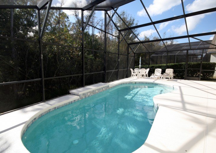 Luxury 4 bed pool villa, 15 minutes from DisneyWorld #24