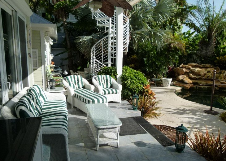 6 BR, 5.5 BA Luxury Key West Beach House in Old Town at Fort Zachary Taylor #19