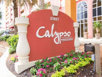 Calypso Resort entrance