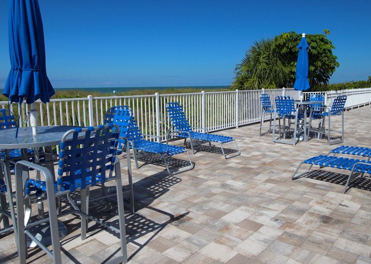 Dedicated area for adult lounge recreation and relaxation for Reef Club Guests.