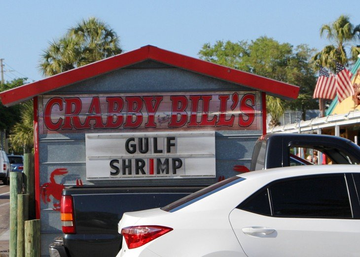 Crabby Bills - known throughout Florida and 6 blocks away.