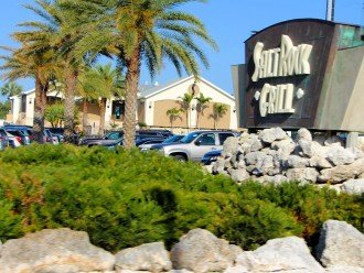 Salt Rock Grill - one of the finest on the coast - 5 miles north on Gulf Blvd.
