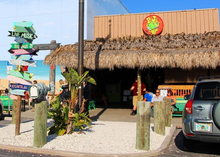 PJ's known throughout the beach area and great food.