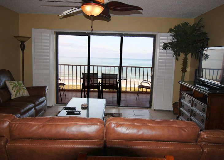 Overview of the ocean from inside - great dedicated facilities for your stay.