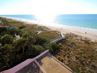 View looking south from the 5th floor Reef Club toward Indian Shores Redington