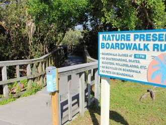 Nature preserve boardwalk must do - beautiful - going inland to the bay.