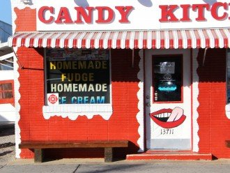 Candy Kitchen - a landmark with delicious ice cream and treats.
