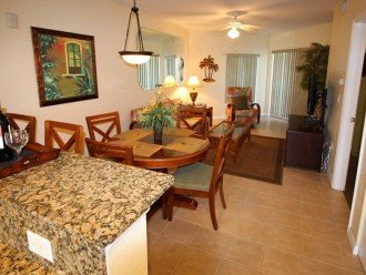 View from Hallway Kitchen, General Layout, Tile/Granite Counters and Amenities.