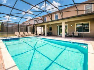 An OUTSTANDING 8 bedroom vacation home with private pool/spa/huge lot #1