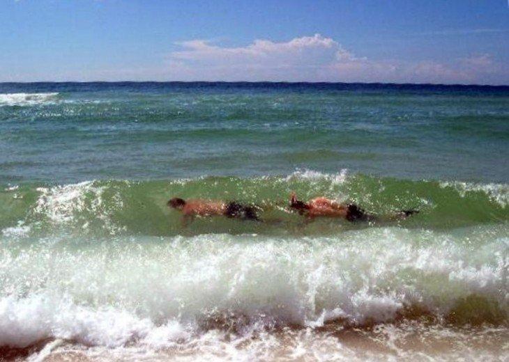 Snorkling in August