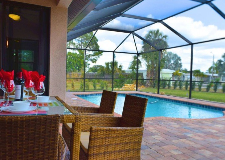 Dream Vacation - Almost new Estate home with heated Saltwater Pool #2