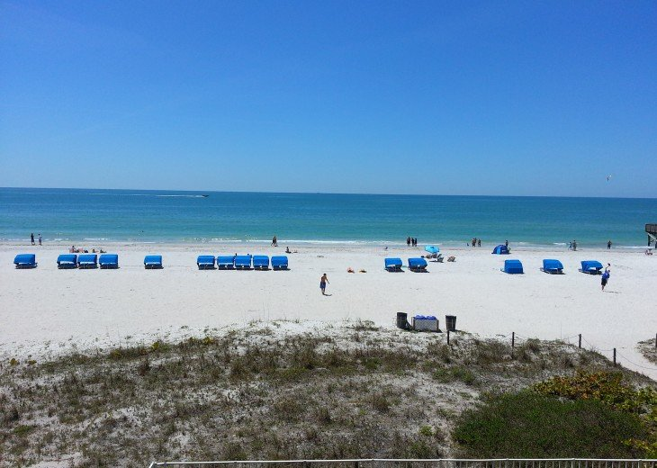 FABULOUS VIEW directly on the Gulf - 3 bdrm condo #35