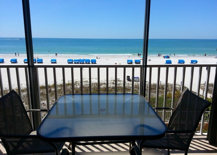 FABULOUS VIEW directly on the Gulf - 3 bdrm condo #6