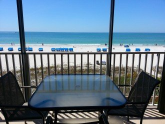 FABULOUS VIEW directly on the Gulf - 3 bdrm condo #1