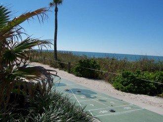 Shuffleboard by the beach