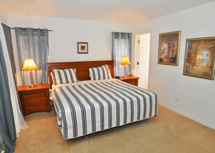 Enjoy your Orlando vacation in a affordable 4 br vacation home with pool & spa #7