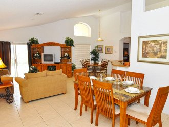 Enjoy your Orlando vacation in a affordable 4 br vacation home with pool & spa #1