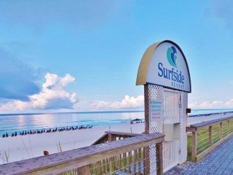 Gate to Surfside Private Beach