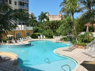 Another view of the resort-style pool. Lap pool also available on site.