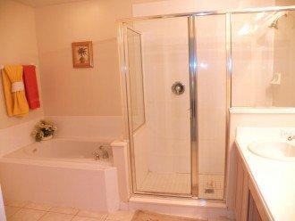 Executive Master Bathroom with Garden Tub