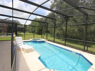Beautiful 4 Bed/3Bath Pool House Back to Conservation Wood #1